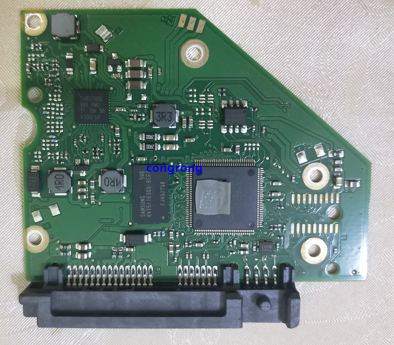 HDD PCB LOGIC BOARD NUMBER: 100762568 REV A ST2000DX001/VX001 ST3000DM001