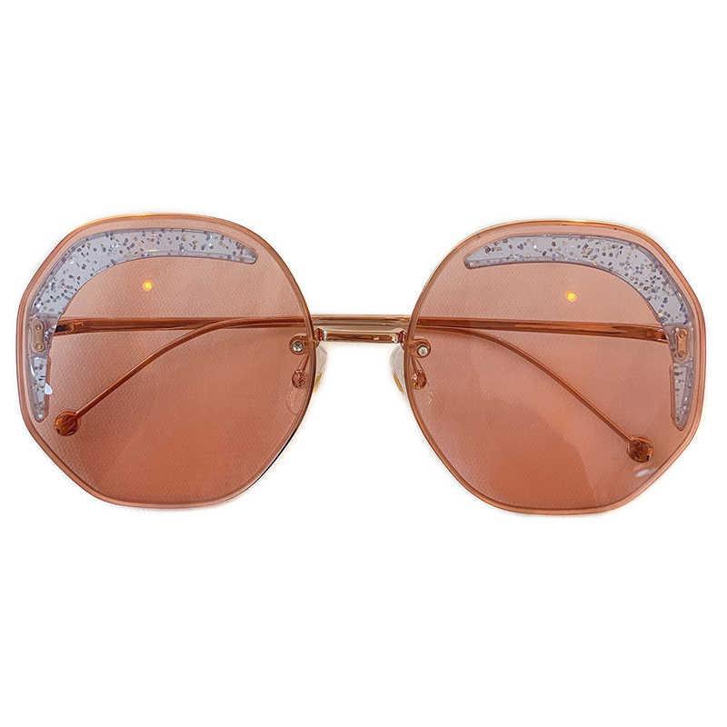 2019 модные круглые солнцезащитные очки для женщин фирменный дизайн роскошные