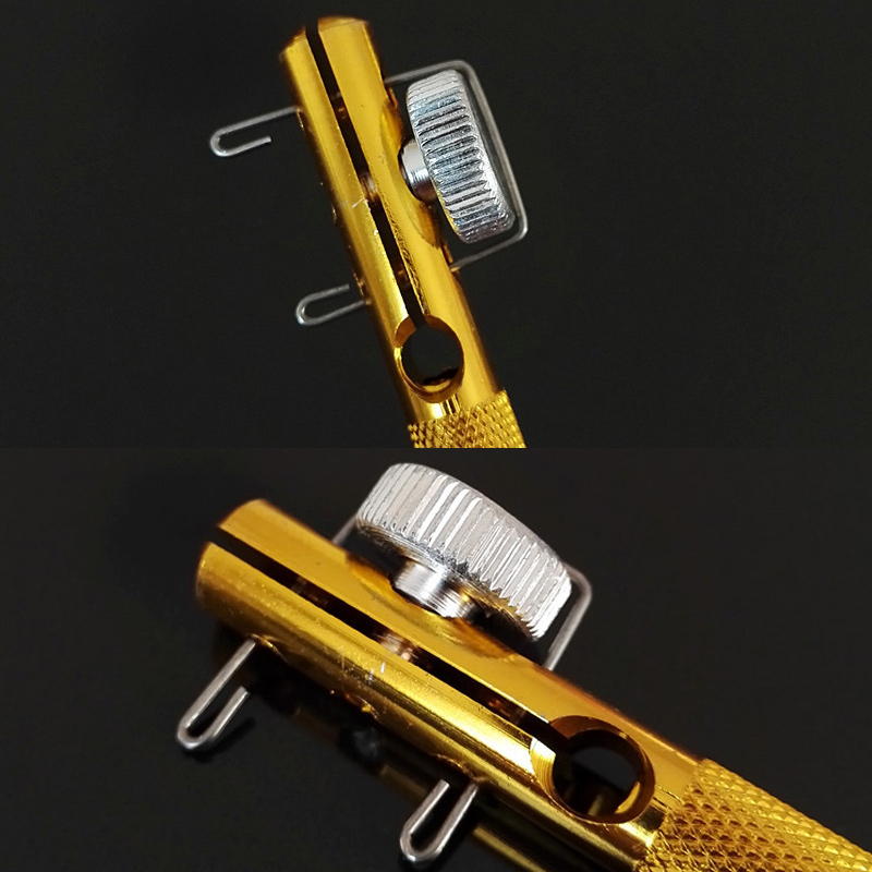 Aluminum Alloy Fishing Tackle Hook Tier Fishing Line Tying Tool With Sub-line Tie Knots ZJ55