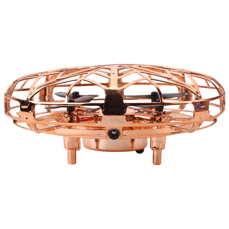 Mini Helicopter RC UFO Dron Aircraft Hand Sensing Infrared RC Quadcopter Electric Induction Toys for Children Mini Drone 3