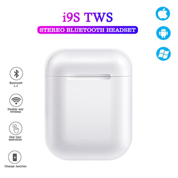 i9s Tws Headphone Wireless Bluetooth 5.0 Earphone Mini Earbuds With Mic Charging Box Sport Stereo Headset For All Smart Phone