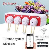 JEBAO mini liquid pump DOSER 3.4 WiFi link APP control titration pump titration system aquarium automatic titration pump plus