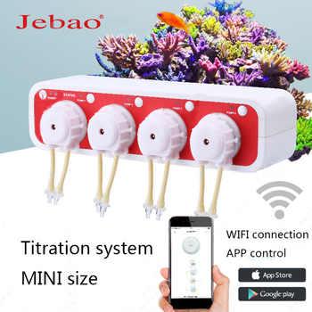 JEBAO mini liquid pump DOSER 3.4 WiFi link APP control  titration pump titration system aquarium automatic titration pump plus - DISCOUNT ITEM  28% OFF All Category