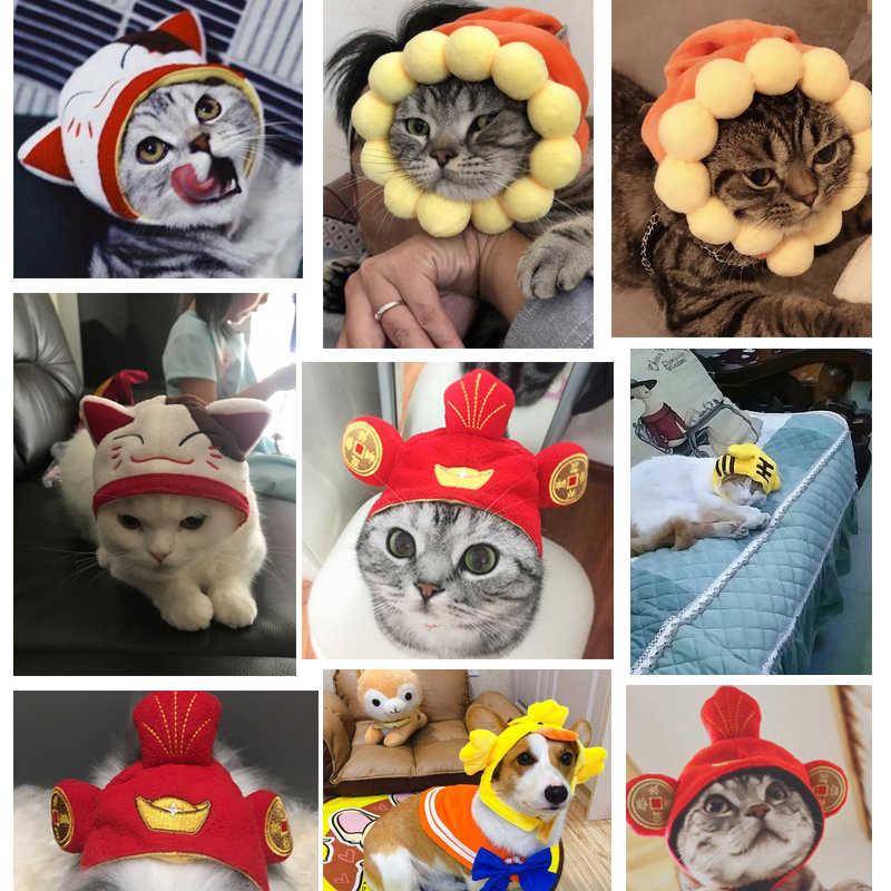 Simpatico Gatto Orecchie Hairwear per Animali Accessori Copricapo della Festa di Compleanno Costume Copricapo Gatti del Cappello della Protezione
