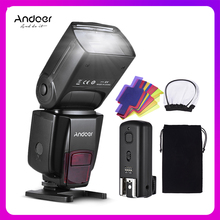 Andoer AD560 IV Pro On camera Speedlite Flash Light Flash Trigger Color Filters Diffuser Hot Shoe for Canon Nikon Sony Camera