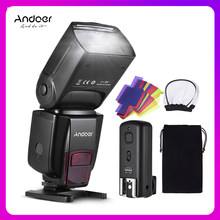 Andoer AD560 Iv Pro On-Camera Speedlite Flash Light Flash Trigger Kleur Filters Diffuser Hot Shoe Voor Canon Nikon sony Camera(China)