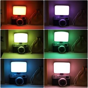 Image 5 - Ulanzi VIJIM VL120 LED lumière vidéo photographie Studio lumière sur caméra lumière vidéo conférence lumière diffuseur doux RGB lumière de remplissage