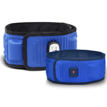 Electric Slimming Belt Fat Burner Body Shaping Machine Heating Vibration Fitness Massager Anti Cellulite Tightening Apparatus недорого