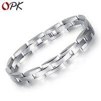 OPK Titanium Steel Men's Bracelet One Generation Men's Bracelet Accessories Market Fashion Handwear Adjustable