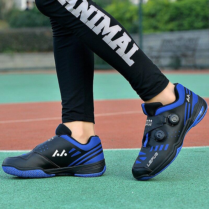 2020 новый бренд с длинным рукавом мужская Профессиональные красная обувь для бадминтона на открытом воздухе Нескользящие Badminto работает кроссовки светильник спортивные Baminton обувь-5
