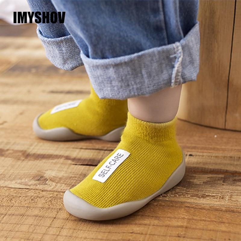 IMYSHOV Newborn Baby Girl Boy Shoes Toddler Girls Boys Walking Shoe Children Summer First Walkers For Infant New Born Prewalker