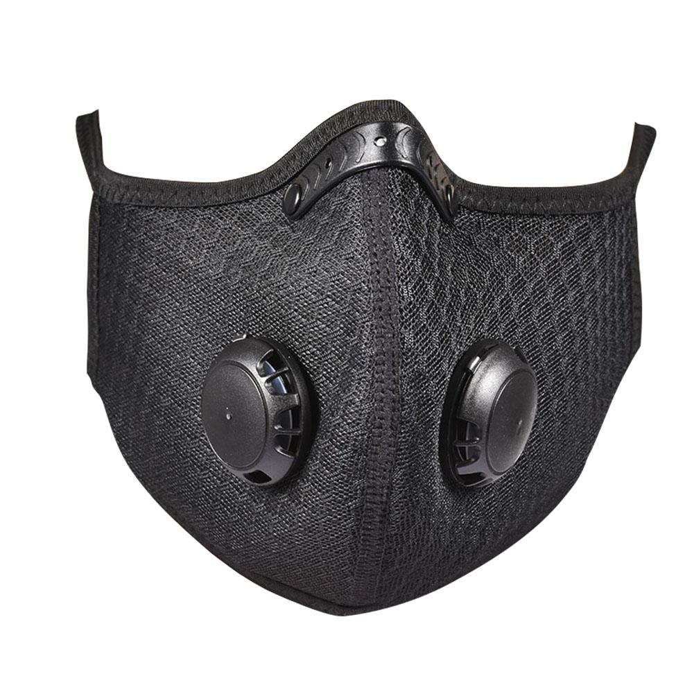 Cycling Dusk Mask Breathable Sport Face Mask Anti-fog Dustproof Bicycle Respirator Reusable Anti Pollution Masks With Filter