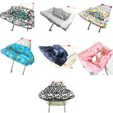 2 in1 Trolley Cover/Highchair Cover for Baby Infant&Toddler/Kids Cushion Mat for Supermarket Shopping Cart/Grocery Cart Cover