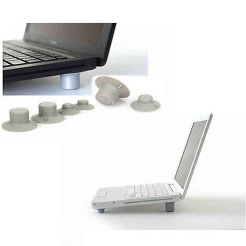 2 قطعة صغيرة مريحة كبيرة 2 قطعة كمبيوتر محمول صغير منصات التبريد وسادة Skidproof حامل تبريد الأكثر مبيعا