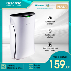 Hisense AE-23R4AF air purifier, multiple/fast purification, home air purifier, silence mode 21dB,
