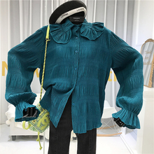 Designer Vintage Women Blouses Korean Fashion Cl