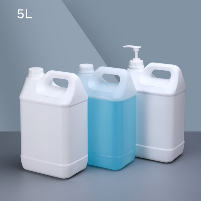 5 liter Thicken HDPE jerry can barrel plastic gallon containers for alcohol,Epoxy resin Food Grade 1PCS