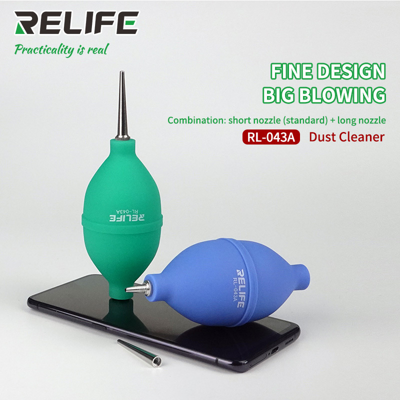 New 2 In 1 Phone Repair Dust Cleaner Air Blower Ball Cleaning Pen For Phone Pcb Pc Keyboard Dust Removing Camera Lens Cleaning