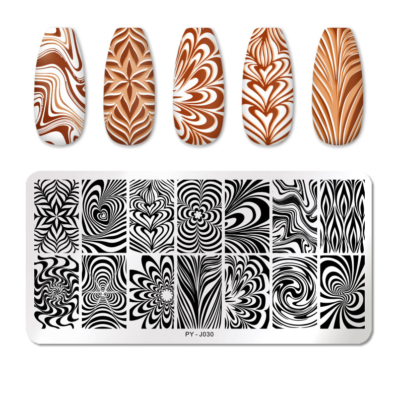 PICT YOU 12*6cm Nail Art Templates Stamping Plate Design Flower Animal Glass Temperature Lace Stamp Templates Plates Image 63