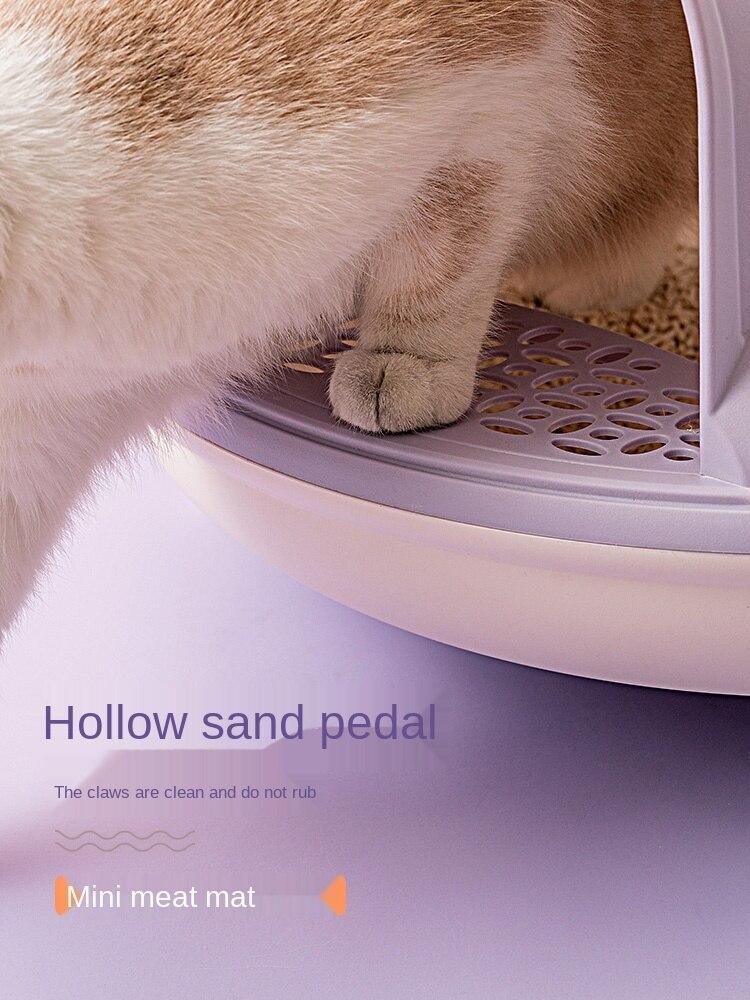 gato litter bacia anti respingo e desodorizando