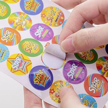 10pcs/Set Cartoon Bubble Stickers Children Reward Sticker Label Mother For Kids Toys Teacher Praise Award Stickers B7G2 image
