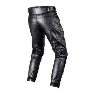 Image 2 - Degli uomini del Motociclo DELLUNITÀ di ELABORAZIONE di Cuoio Dei Pantaloni Motocross pantaloni impermeabili Dirt bike Pantaloni Da Corsa di Guida antivento Moto pantaloni Protettivi