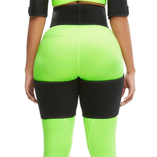 WAIST SECRET Slim Thigh Trimmer Leg Shapers Slender Slimming Belt Neoprene Sweat Shapewear Toned Muscles Band Thigh Slimmer Wrap 3