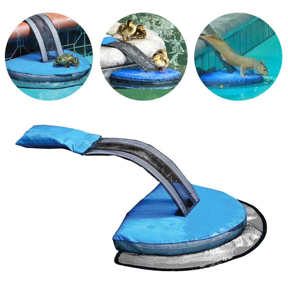 Swimming Pool Hamster Accessories Animal Escape Net Inflatable Safe Saving Escape Ramps For Small Turtle Chipmunk