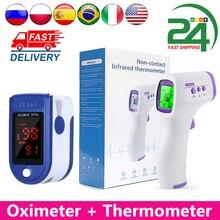 Pulse Oximeter Medical Rechargeable Blood-Oxygen Fingertip Digital