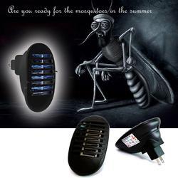 LED Sockel Stecker Elektronische Moskito-killer Lampen Moskito Falle Lichter Abweisend Fly Bug Insekt Killer Zapper Nacht Lampe 220V