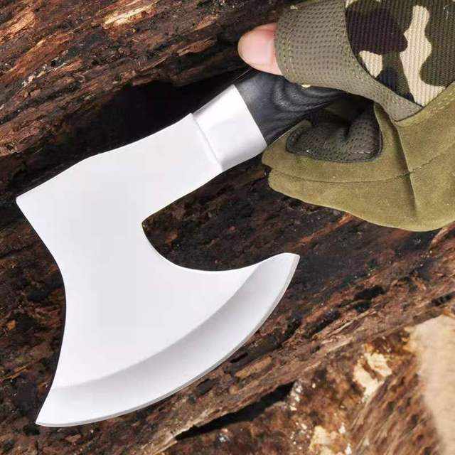 Meat cutting and bone cutting multi-function tomahawk mountain axe machete camping hunting survival outdoor activities 3