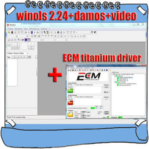 Drivers Unlock-Patch Winols Video User Manual 26000 Titanium Files Download-Link Ecm