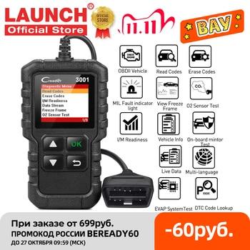 LAUNCH X431 CR3001 Car Full OBD2 /EOBD Code Reader Scanner Automotive Professional OBDII Diagnostic Tools Free Update pk ELM327 1
