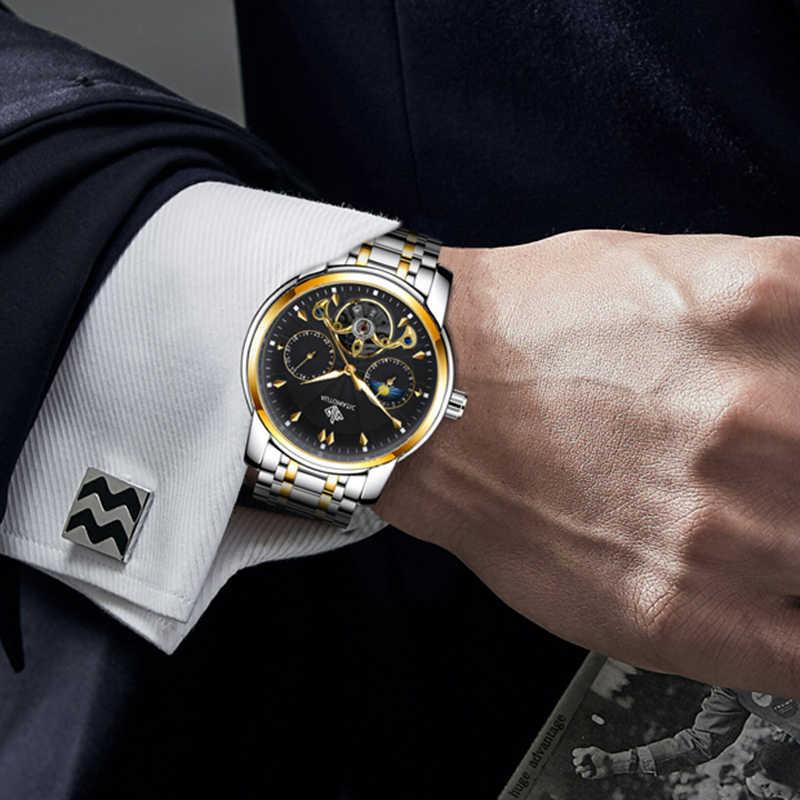 GIV Mensนาฬิกา 2020 Luxury Mechanicalนาฬิกาผู้ชายอัตโนมัติสแตนเลสแฟชั่นSkeletonชายนาฬิกา часы