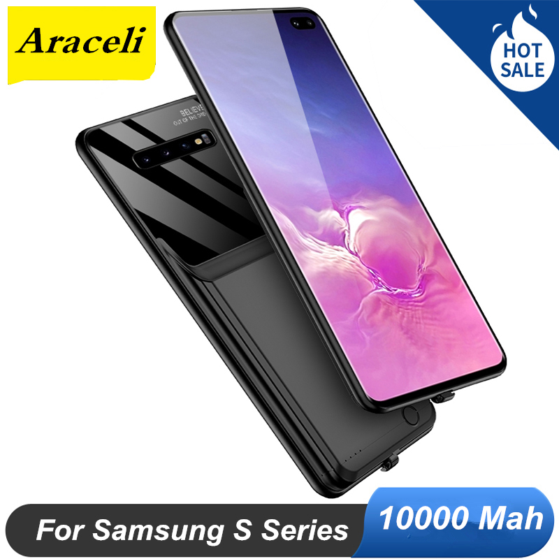 Araceli 10000 Mah For Samsung Galaxy S20 S20 + Plus S8 S9 S10 Plus S8 Plus Battery Case Power Bank
