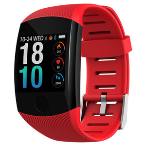 Image 5 - Q11 סופר ארוך המתנה חכם שעון לחץ דם קצב לב צג כושר צמיד גברים נשים Smartwatch PK Q9