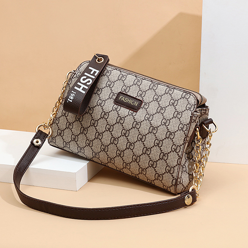 Shoulder Bag Female Small Bag Female 2019 New Fashion Summer Simple All-match Middle-aged Female Bag Mother Bag Messenger Bag