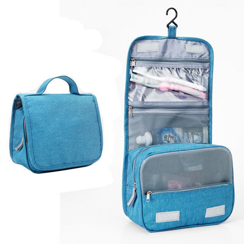 New Ladies Travel Portable Waterproof Large Capacity Wash Bag With Hook Travel Storage Cosmetic Bag Wash Cosmetic Bag