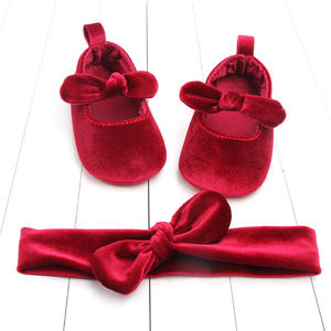 Shoes Velvet Christmas Toddler Newborn Infant Baby-Girls Princess First-Walkers 0-6-Months