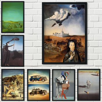 Great Paintings by Salvador Dalí Printed on Canvas 1