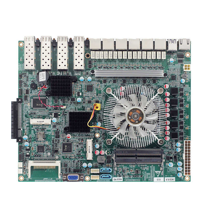 LGA1151 6th 7th PCU pfsense firewall motherboards H110 Chipset 6 ethernet ports mainboards with 2* DDR4 4*USB