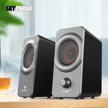 10W USB+AUX Wired Computer Speakers High Power Bass Reinforcement Subwoofer for Laptop Desktop Phone Loudspeaker