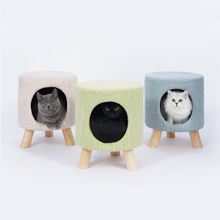 Dog Beds Creative Stool Cat House Teddy Pet Supplies Puppy Bed  Small Breathable 100% Cotton