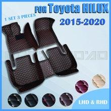 Автомобильные коврики для Toyota HILUX 2015, 2016, 2017, 2018, 2019, 2020