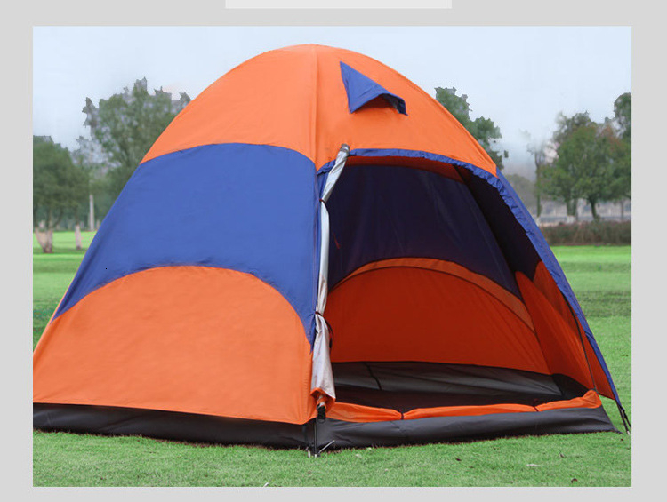 Mongolian Yurt Tent Fishing Mosquito Net Picnic Family Outdoor Camp Summer Beach Camping Tent 5 Person Waterproof (12)