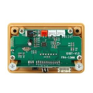 Image 5 - بلوتوث 5.0 MP3 فك فك لوحة تركيبية 5 فولت 12 فولت سيارة USB MP3 مشغل موسيقى WMA WAV TF فتحة للبطاقات USB FM لوحة تركيبية عن بعد