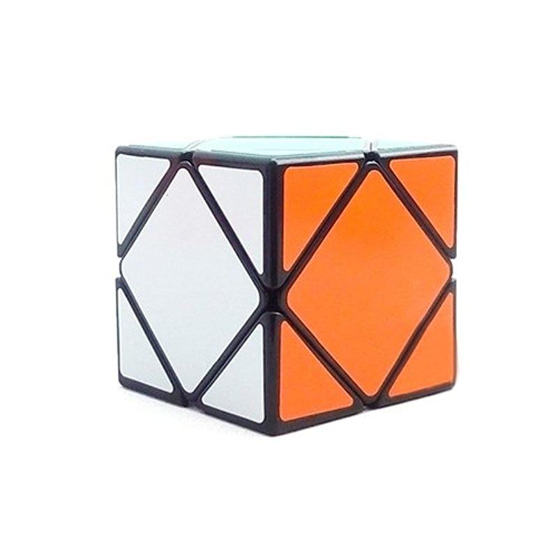 Shengshou Professional Brain Teaser Puzzle Skewb Speed Magic Cube Glossy - Black