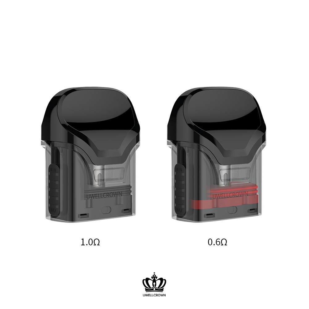 Image 4 - 5 Packs UWELL Crown Refillable Pod  3ml capacity suitable for  Crown Pod System Vape PodEletronic Cigarette Atomizer Cores   -