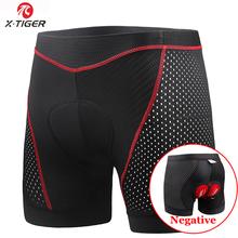X-tiger – sous-vêtement de cyclisme avec ceinture antidérapante, respirant, antichoc, rembourré en Gel 5D