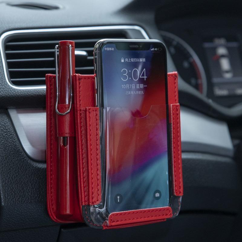 Auto-styling Auto Visiera di Sun della Carta di Cornici E Articoli Da Esposizione Holder Multifunzione In-Car Pocket Organizer Pouch Bag Pocket Auto Riordino accessori